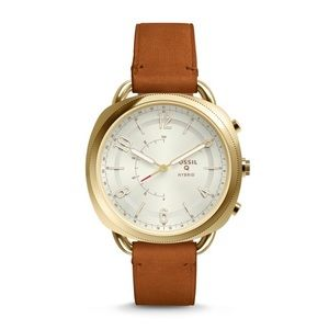 Fossil Q Accomplice Hybrid Smartwatch Brown/Gold